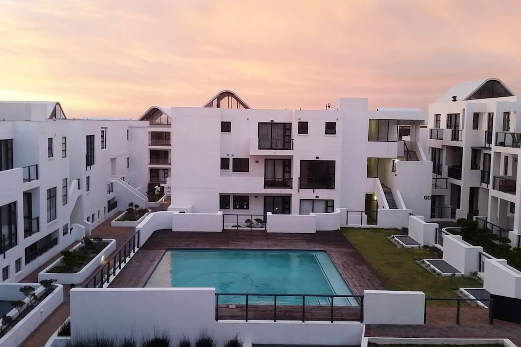 This is the Eden Life, at B301 Pardis Bay from our Balcony