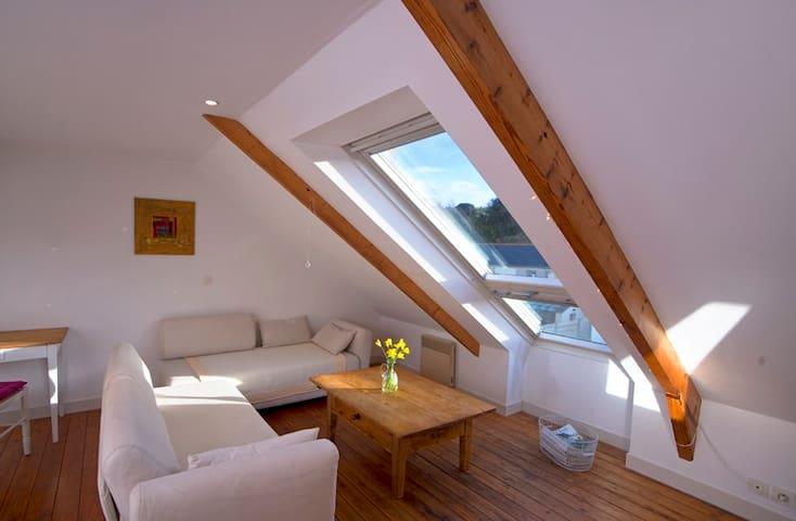 Charmant studio avec belle vue - Le Palais - Loft-asunto