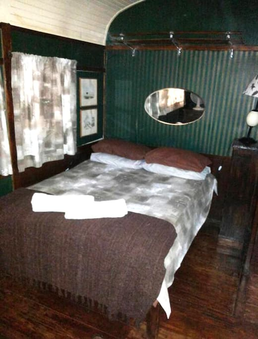 Standard Room, built in 1950's railway carriages