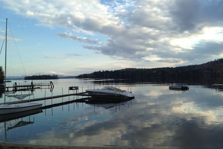 Waterfront Villa on lake Winnipesaukee! - Moultonborough - Vila