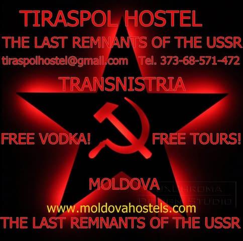 Tiraspol Hostel Apartments and Soviet Life Tours! - Tiraspol - Apartamento