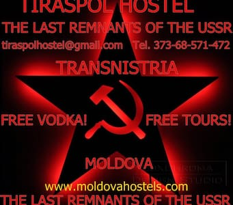 Tiraspol Hostel Apartments and Soviet Life Tours! - Tiraspol