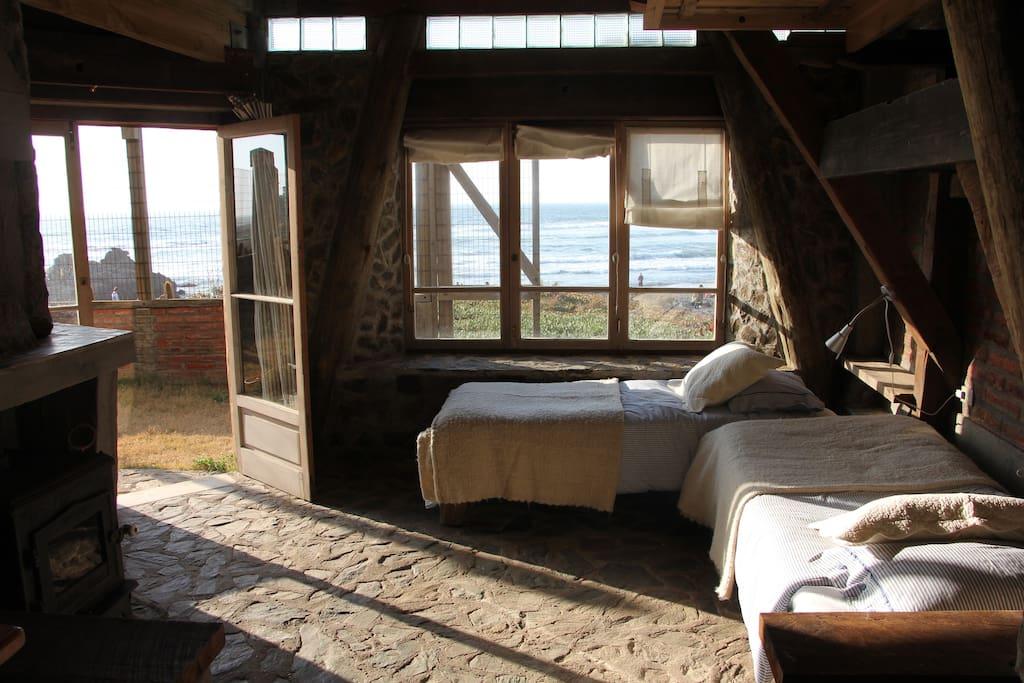 Espacio pricipal (alternativa camas individuales)