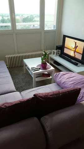 Chambre spacieuse et ensoleillée - Wattignies - Byt