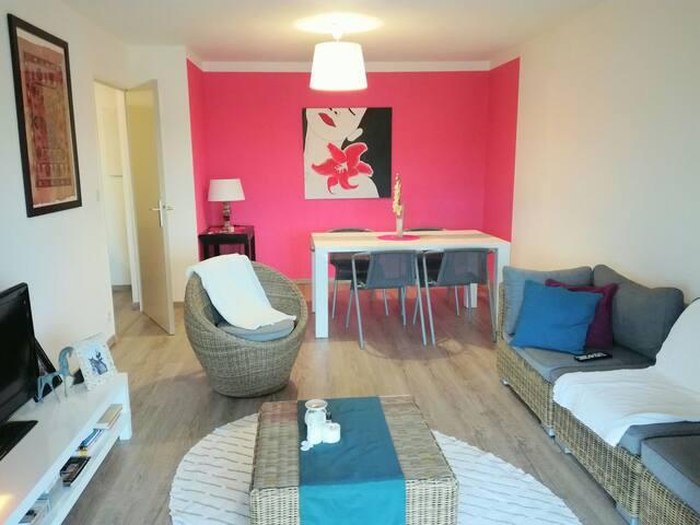 Canapé-lit futon dans grand T2 - Toulouse, FR