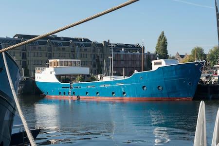 Beautifull houseboat Stella Rask - Amsterdam - Bot