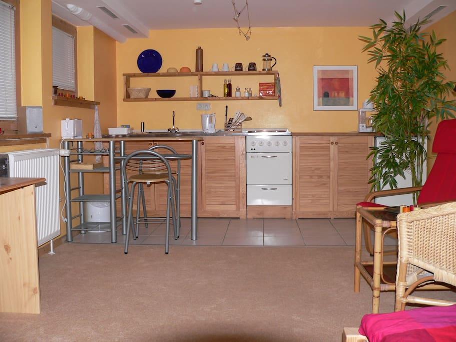 Die Küche - The kitchen