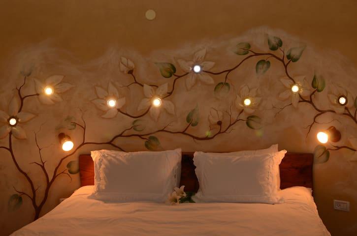 The Wonder Villa with amazing view - Amirim - Bed & Breakfast