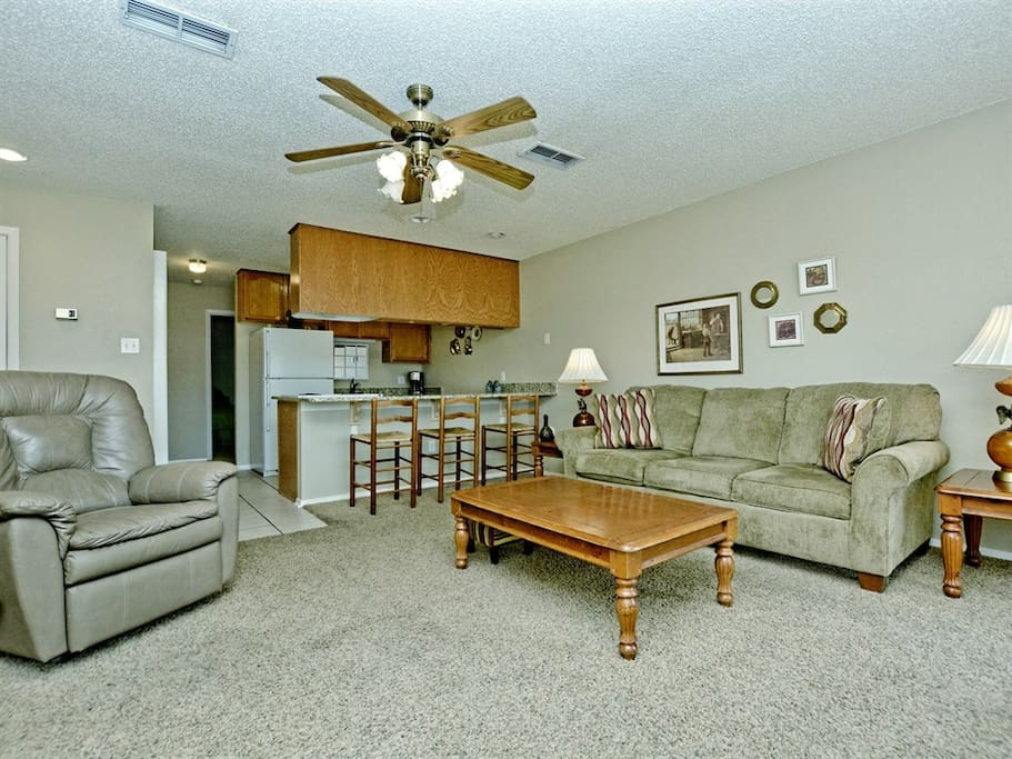 Comal River 353-Living Room