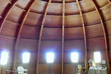 Not far from us - the Integratron - built with alien technology - restore your energy with a sound bath.