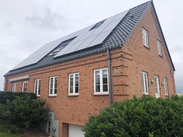 Landlig idyl tæt ved Silkeborg og Hærvejen