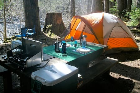 Deluxe Camping Package (Gear Only) - Port Hadlock-Irondale