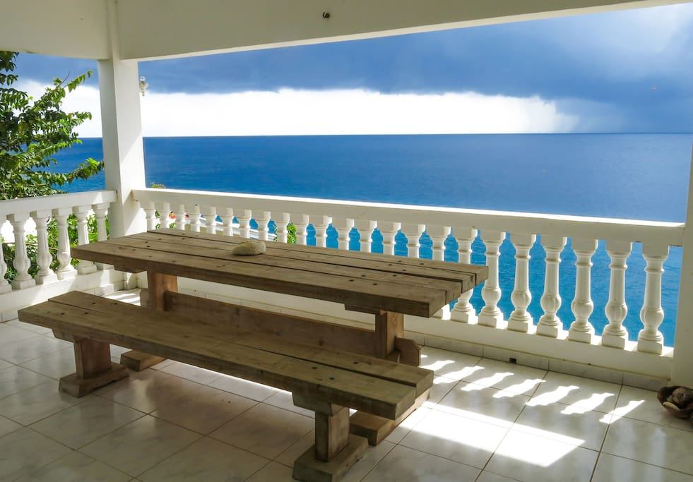 Sea view Balcony for Private Room