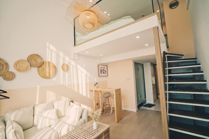 Miu's house-简约日式|港珠澳大桥|拱北|长隆|富华里|御温泉|横琴|情侣路|香港|澳门