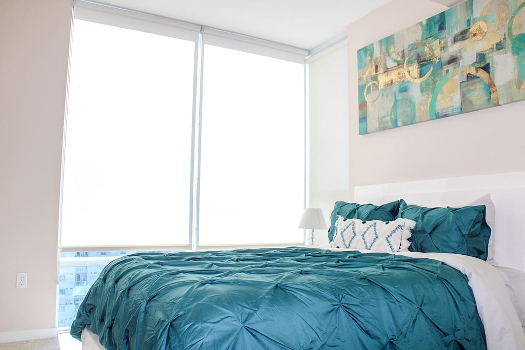 Master bedroom (amazing views)
