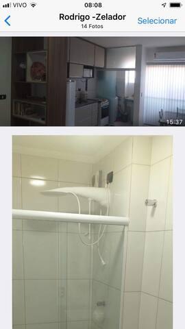 Apartamento no Centro de Ubatuba - Confortável
