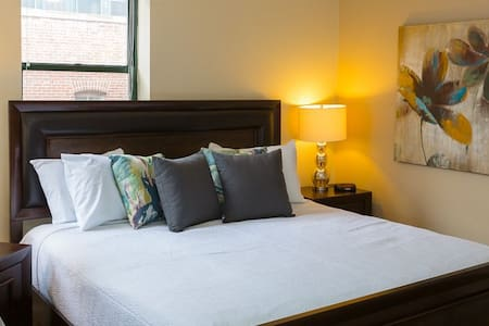 Jazzy Private Room-Best Location - San Francisco - Apartment