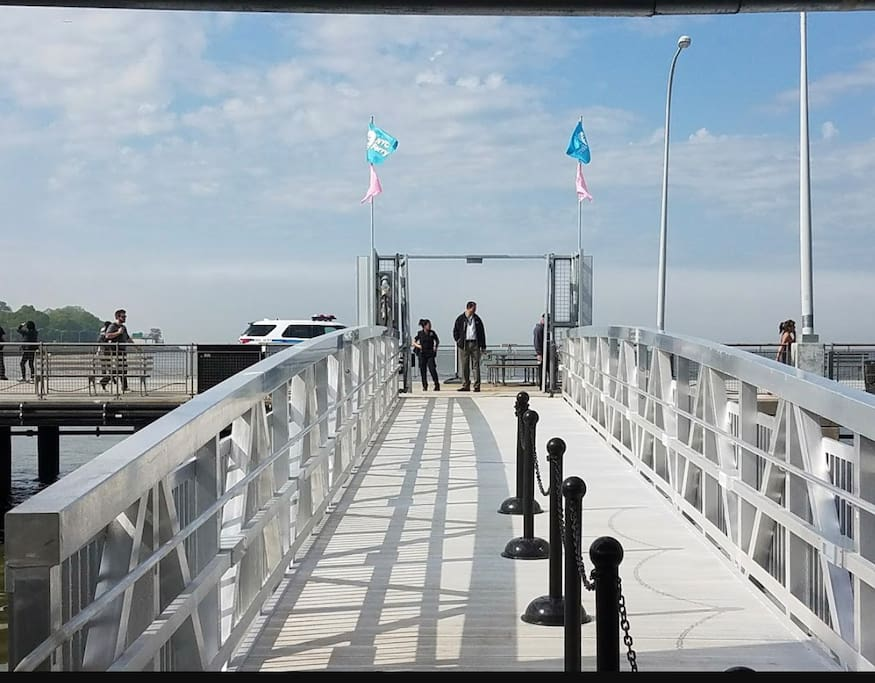 Take the ferry from Bay Ridge pier to the city or just enjoy the ride.