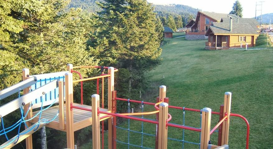 Family-friendly mountain chalet - Karpenissi - Cottage