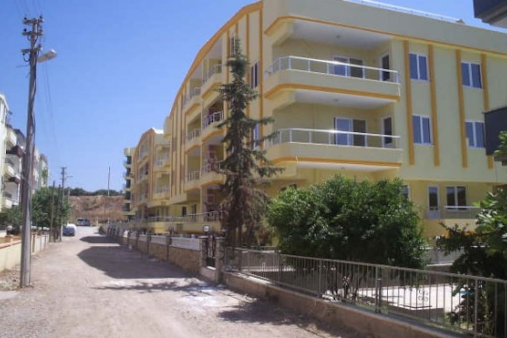 Apartment Complex - 400 meters from middle beach