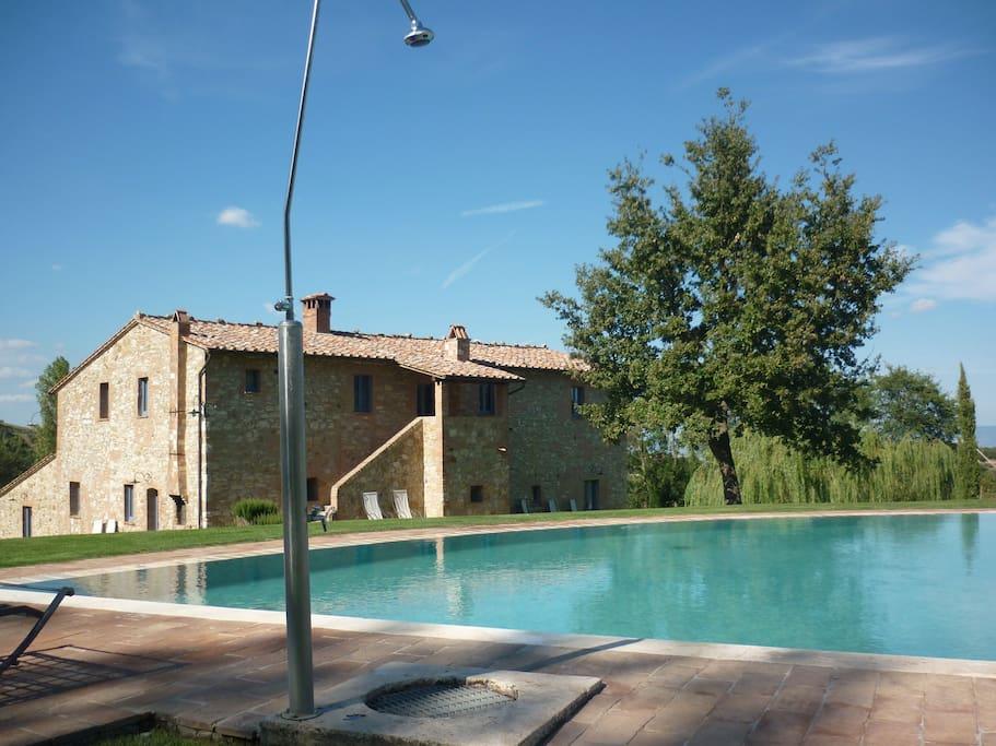 swimming & villa