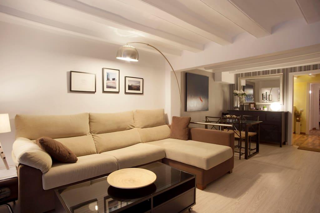 *Modern apartment center Barcelona*