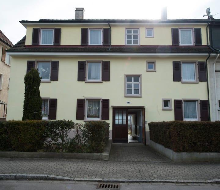 House near the Basel Fair