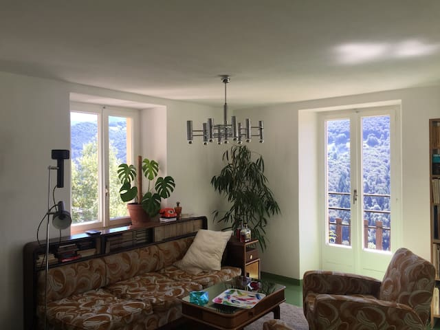 Appartamento con vista sulle alpi. - Capriasca - Apartmen