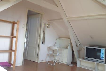 Spacious loft room near city centre - Rotterdam