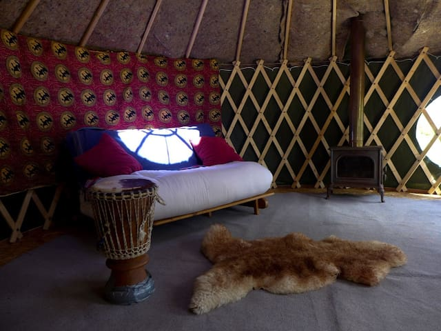 Glamping in a Beautiful Yurt - Tulla - Rundzelt
