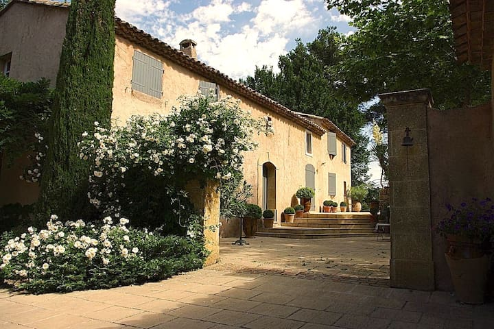 La Bastide de Manon à 6 min centre Aix en Provence - Le Tholonet - House