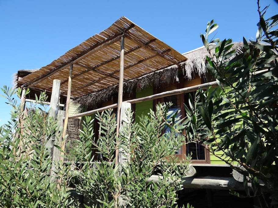 MARACATÚ - spacious loft style cabin with sea views!