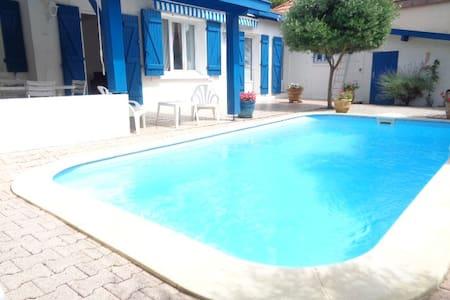 Magnifique villa avec piscine, 100 metres plage! - Arcachon - Maison