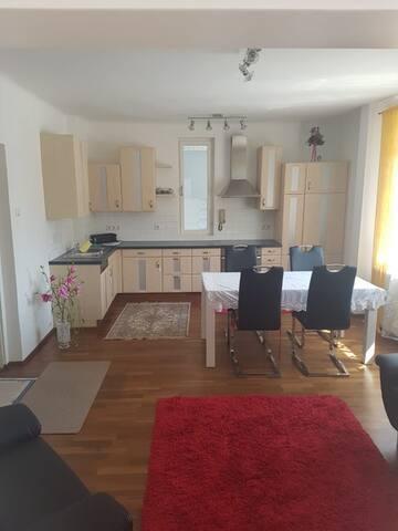 Vollmöblierte, neu renovierte Wohnung