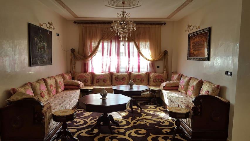 Magnifique appartement duplex à FES - Fès - Wohnung