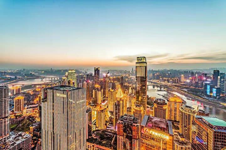 从你的全世界路过--取景地全江景阳台、江景大飘窗 - Chongqing - Leilighet