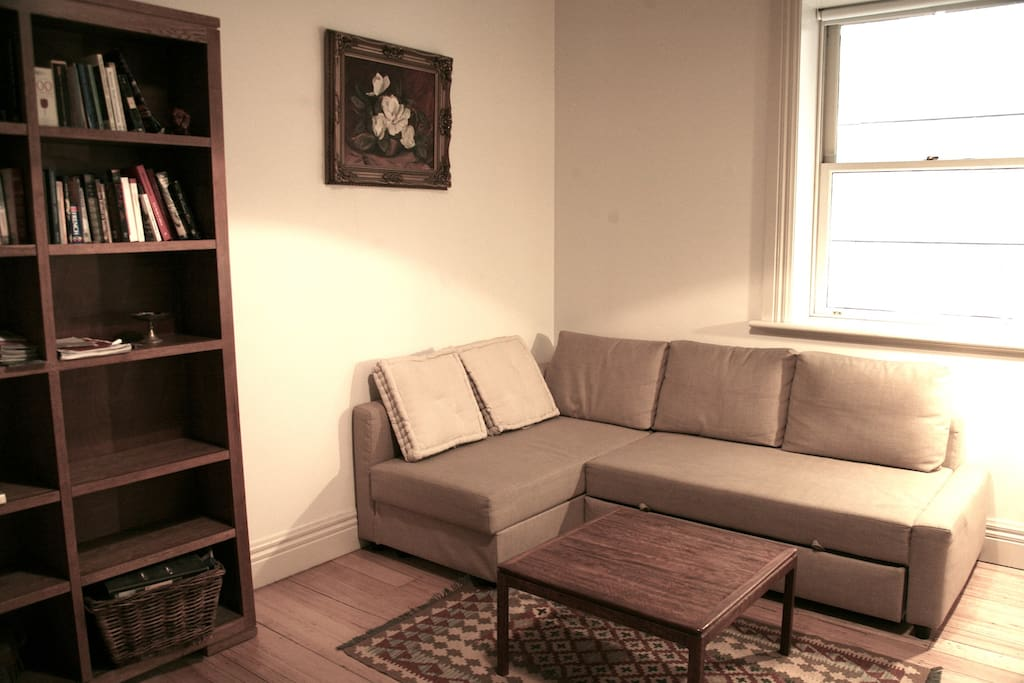 Living room/Sofabed