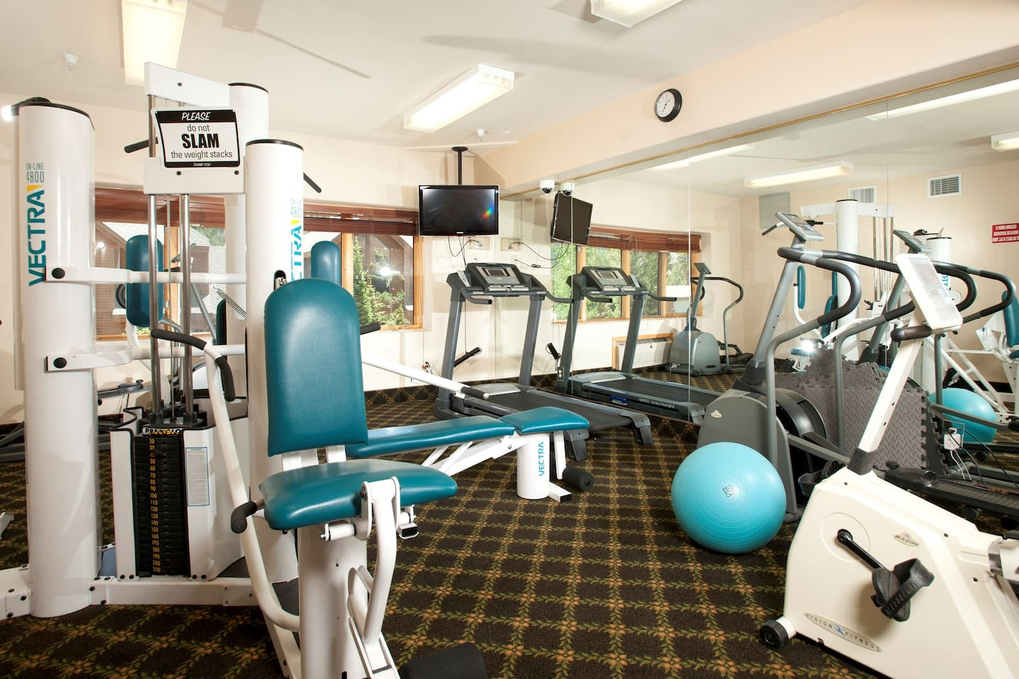 Don't forget to check out the fitness suite!