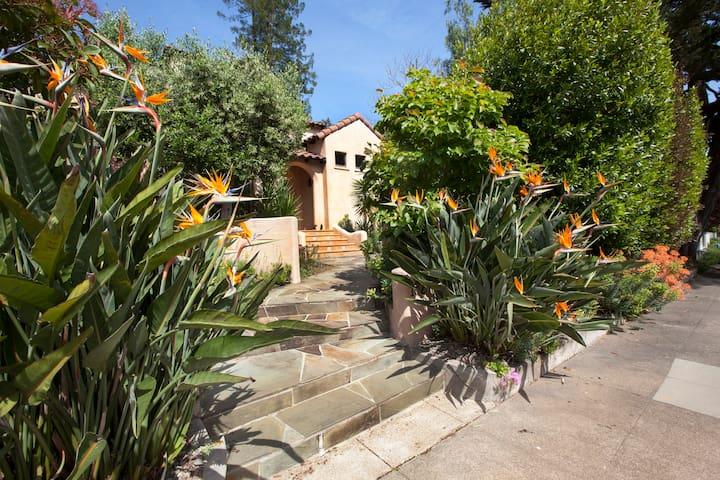 Mediterranean Villa  in Mill Valley down town