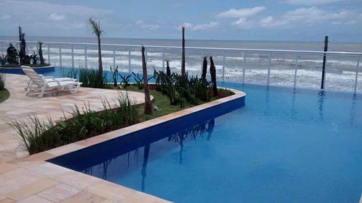 Resort Itanhaém, frente para o mar