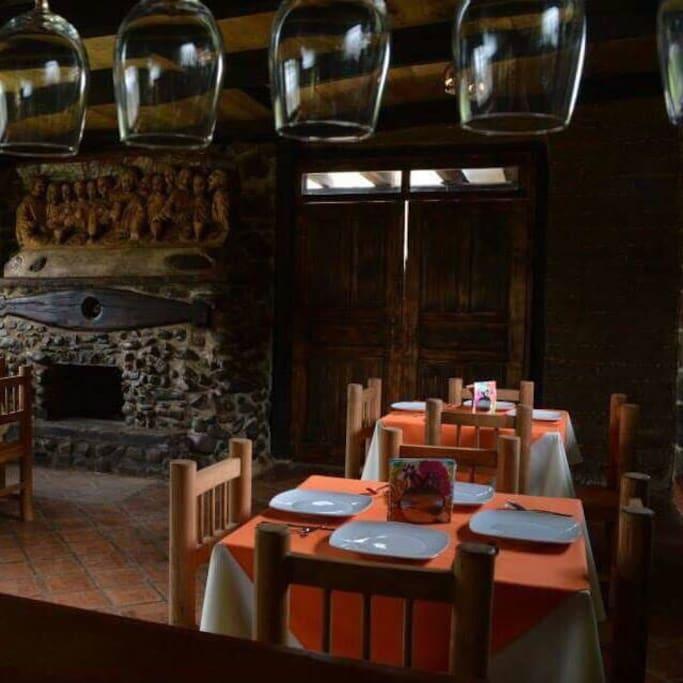 Restaurant donde te ofreceremos comida típica de la región