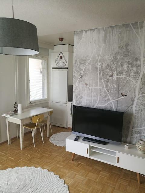 Studio apartment in central Lappeenranta