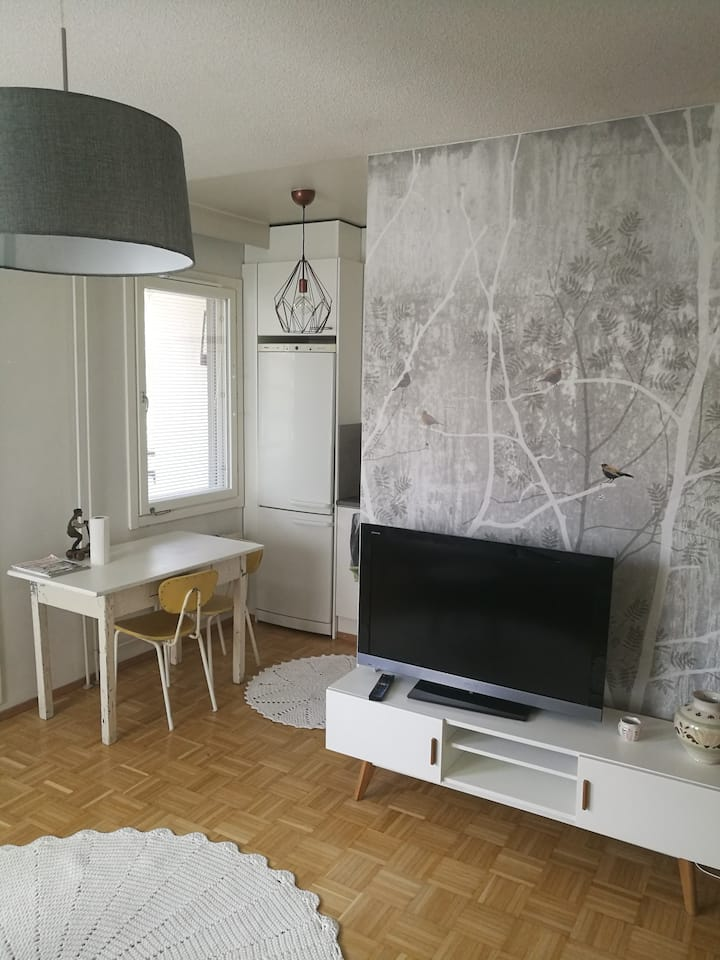 Studio apartment in central Lappeenranta