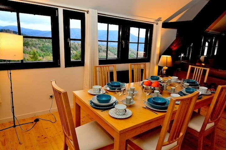 LA FORÊT - VUE SPLENDIDE - Orschwiller - Appartement en résidence