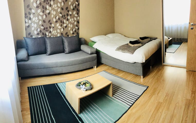 MOSS Apartment🌿 modern & cozy + excellent location