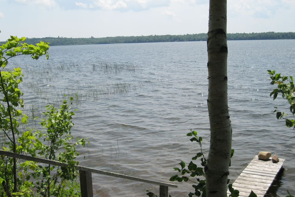 View from Kendall Farm on the shore of Boyden Lake.