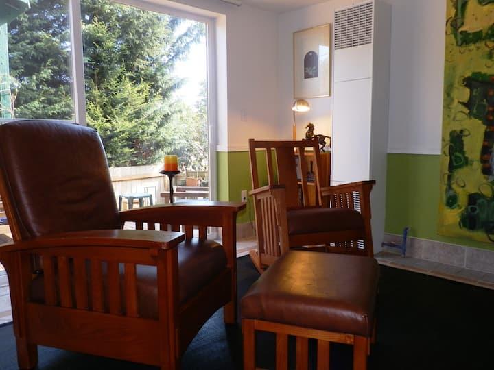 Garden Apartment in Madison Valley