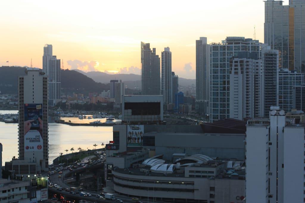 View to Panama Bay