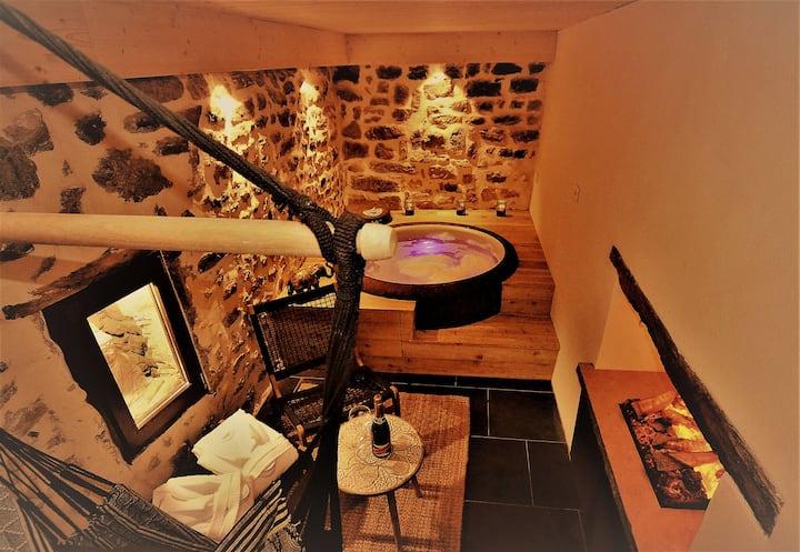 Appartement &Spa atypique à proximité de Lyon