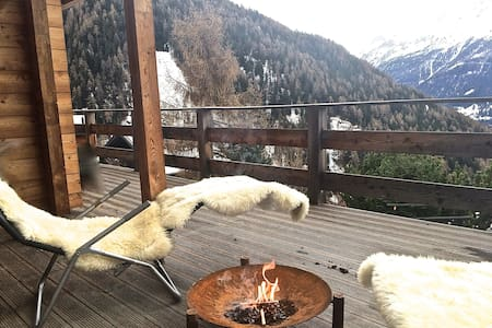 pittoresque chalet in the SwissAlps - Saint-Luc